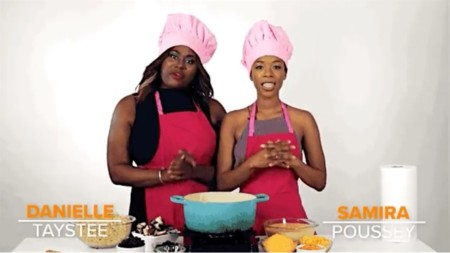 Cocinando en naranja y negro, la imagen de la semana