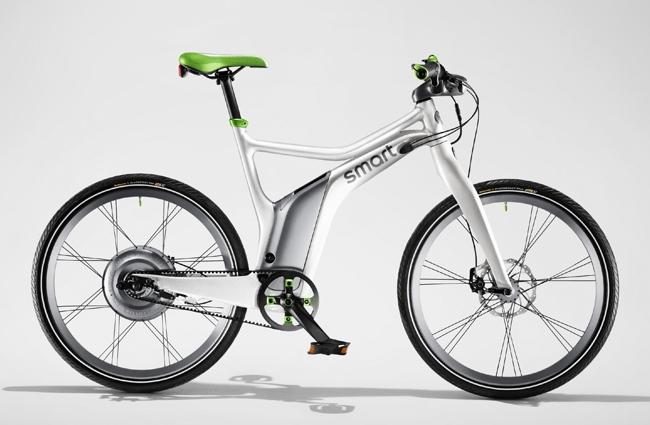 Smart ebike blanco-verde