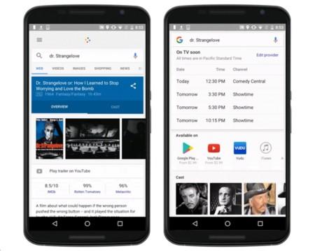 El buscador de Google se convierte en la guía de la tele