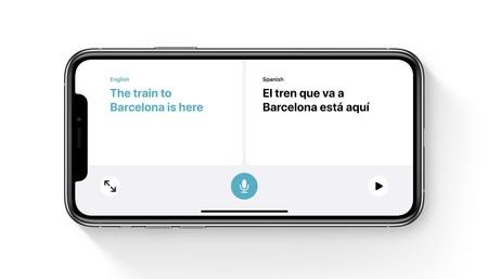 Traducir, la app de iOS 14 con la que podremos mantener una conversación con todo el mundo y en cualquier lengua