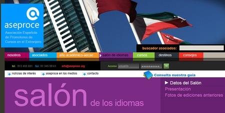 Aprenda idiomas de manera gratuita en el salón de los idiomas de ASEPROCE en Barcelona