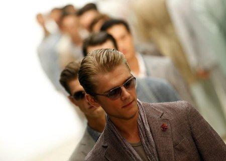 Ermenegildo Zegna, Primavera-Verano 2012 en la Semana de la Moda de Milán