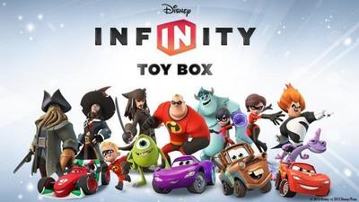 Disney Infinity Toy Box, un juego DIY en el que eliges los personajes que quieras de Disney
