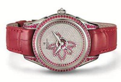 Edición Prestigio Diamond Flower Perrelet, una flor de loto para San Valentín. Reloj de lujo