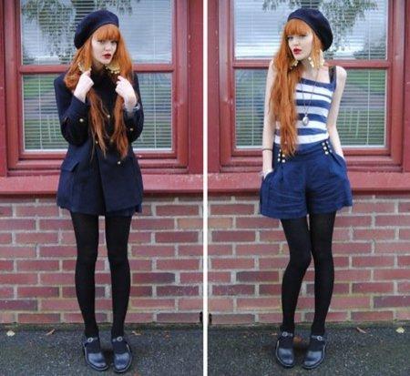 Streetstyle moda a rayas: tops