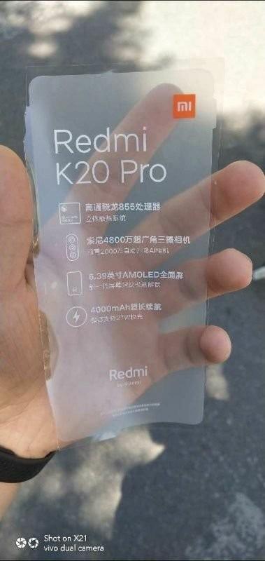 Redmi K20 Pro Film