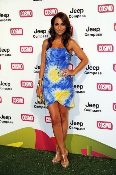 Poprosa lo petó en los Premios Pétalo de Cosmopolitan TV