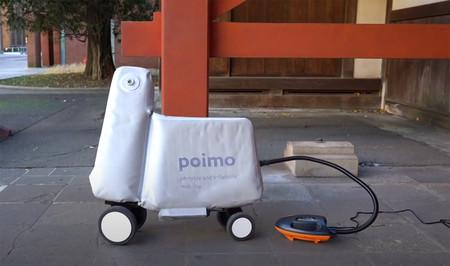 Patinete Electrico Hinchable Bicicleta Poimo