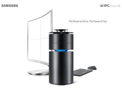 Diseño cilíndrico y sonido en 360 grados para la gama alta de ordenadores Samsung: ArtPC Pulse