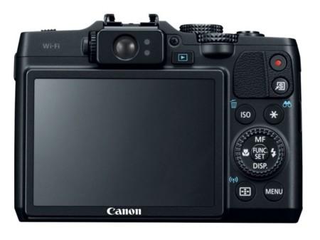 Canon G16 pantalla trasera