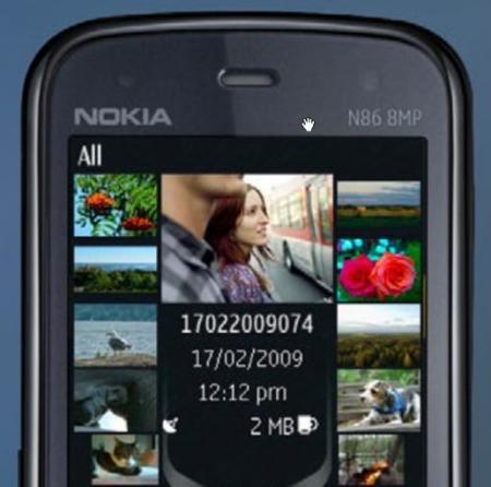 Nokia N86, aún no es oficial... pero ya nos lo enseñan