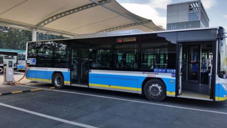 Bus Electrico Pekin Rapido
