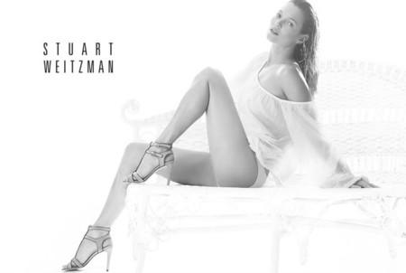 Kate Moss repite como imagen Stuart Weitzman verano 2014