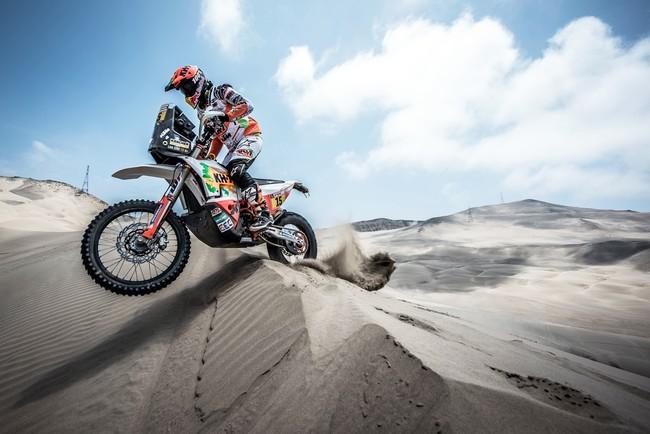 Laia Sanz se asegura una KTM oficial para correr el Dakar renovando hasta 2020