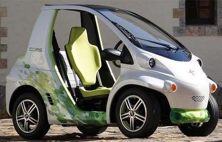 COMS, vehículo de Toyota Ha:mo