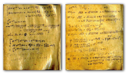 Disponibles los originales del brillante matemático Ramanujan