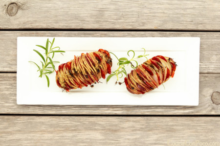 Patatas Hasselback Chorizo Redondo Iglesias Cocinaconpoco Com 001