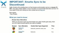 Xmarks dejará de funcionar en enero de 2011
