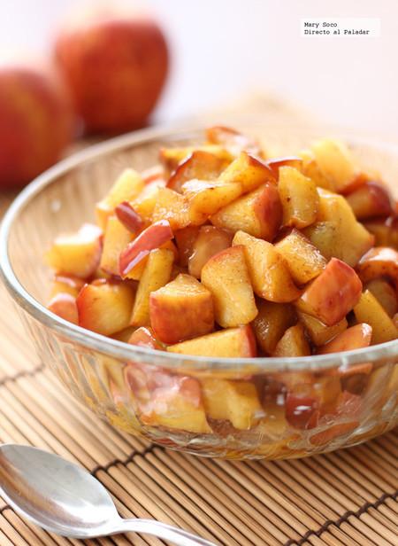 Manzanas Fritas