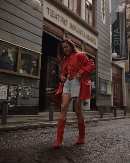 Combinar Shorts Verano 2021 Street Style 04