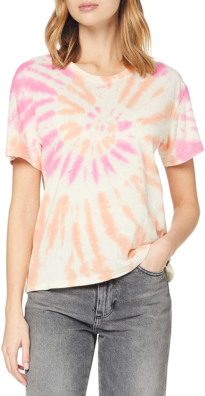 Hurley W Tie Dye GF Crew tee T-Shirt Mujer