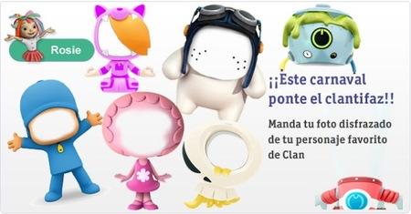 Los personajes más divertidos de Clan celebran el Carnaval con el Clantifaz
