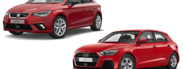 SEAT Ibiza FR 1.0 TSI vs. Audi A1 Urban 1.0 TFSI: Así se colocan estos hermanos de distinta nacionalidad