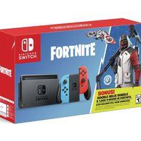 Fortnite también tendrá su propio pack con Nintendo Switch y se actualiza en todos los sistemas