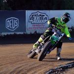 Dos leyendas haciendo flat track: Jeremy McGrath y Ryan Villopoto