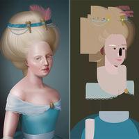 Francine, el retrato digital que cambia radicalmente en función del navegador que utilices