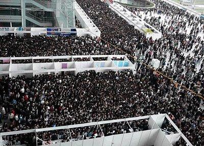 Una feria de trabajo en China