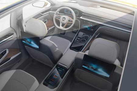 Volkswagen Sport Coupe Gte Concept Interior