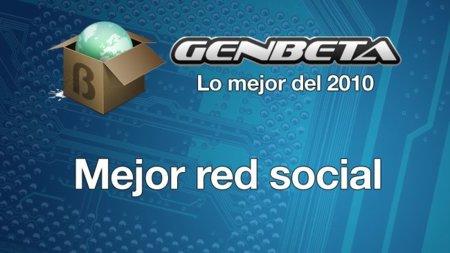 Lo mejor del 2010: mejor red social
