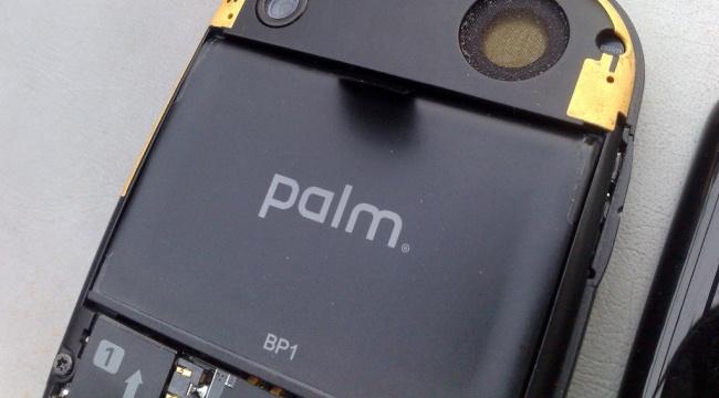 Batería de la Palm Pre