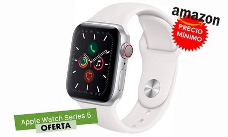 Este Apple Watch Series 5 con GPS+Celular sigue siendo un chollo a precio Black Friday en Amazon: lo tienes más barato que nunca, por 110 euros menos de lo habitual