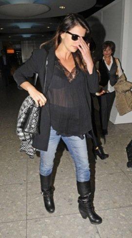 Penélope Cruz embarazo blazer