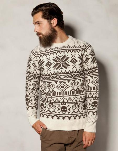 Jersey Jacquard Heritage Pull&Bear