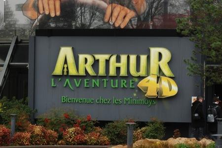 Arthur y los Minimoys en 4D para vivir emocionantes aventuras en Futuroscope