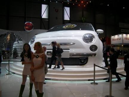 Fiat en Ginebra: Panda y 500 Aria concept... y Luca Cordero di Montezemolo