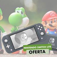 Por su aniversario, MediaMarkt te deja la Nintendo Switch Lite por sólo 199 euros