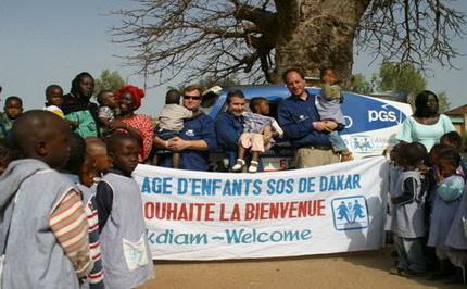 El Dakar aún sigue vivo en forma de solidaridad