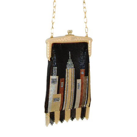 Whiting And Davis Heritage Collection Skyline Crossbody