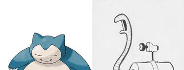 Este es el resultado de dibujar los Pokémon a través de sus nombres y sin conocer los juegos