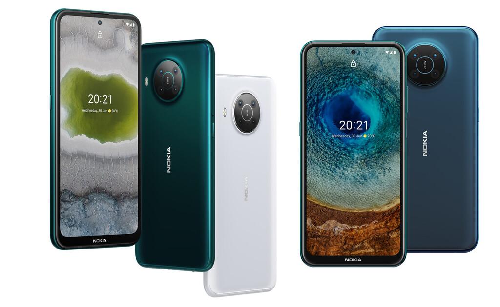 Nokia garantiza 3 años de actualizaciones de sistema y seguridad a sus Nokia™ X10 y Nokia™ X20