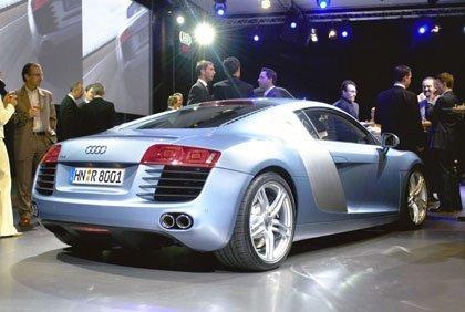 Audi R8, fotos y vídeo desde París
