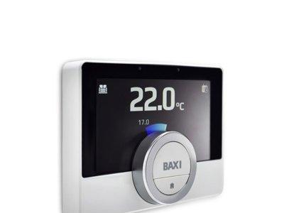 El Baxi TXM 10C Heat Connect es el termostato que te mantiene conectado con tu casa... da igual donde estés