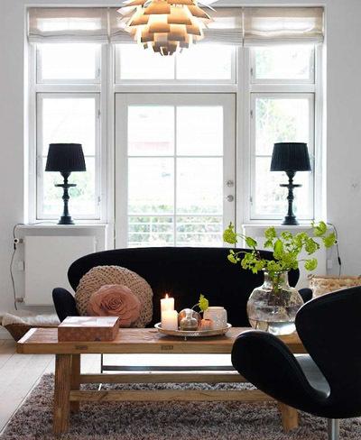 Un acogedor y sencillo apartamento danés