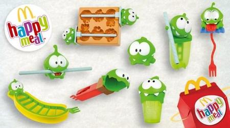 McDonald's anima a los peques a comer fruta con Cut the Rope y el Happy Meal