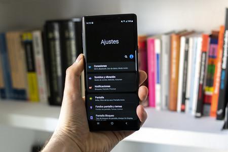 Modo Oscuro Samsung