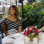 Melania Trump afirma lo que todos estábamos pensando: que el estilo marinero es lo más este verano